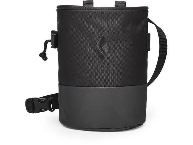 Black Diamond Mojo Zip Chalk Bag S/M, black-slate